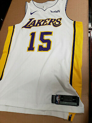 4fe4b69f6c5 NIKE NBA AUTHENTIC Lakers team issued Gold   Purple shorts -  139.99 ...