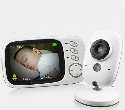 3.2'' LCD Digital Baby Monitor Audio 2.4G Wireless Video Camera Night Vision AU!