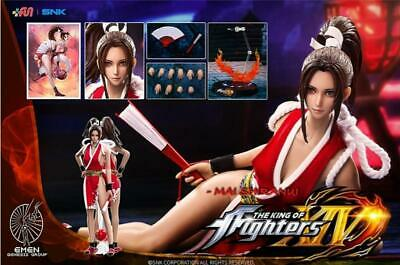 "1//6 Mai Shiranui Head Sculpt The King Of Fighters For 12/"" PHICEN Figure ❶USA❶"