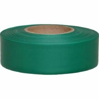 "Merco M220 Green Flagging Tape - 1-3/16"" x 300' - Convenience Pack of 72 Rolls"