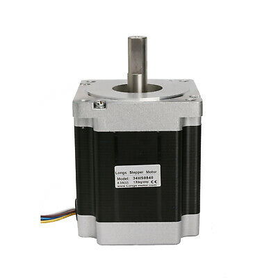 1 PC Nema 34 Stepper Motor 1090 oz.in=7.6N.m 4.0A 8 leads 34HS9840 CNC kits