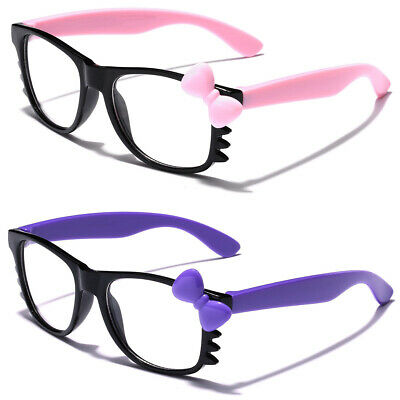 Baby Toddler Age 0-3 Hello Kitty Clear Lens Sunglasses Girls Boys Infant Glasses