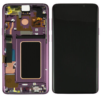 Original Samsung Galaxy S9 Plus SM-G965F - LCD Touchscreen Display Purple/Lila