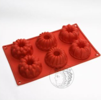 MUFFIN 3 TYPES 6 balls Silicone soap Mould plaster (candle) Mold