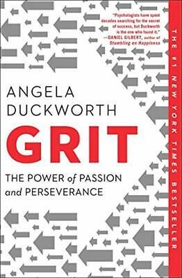 Grit: The Power of Passion and Perseverance by Angela Duckworth Paperback NEW