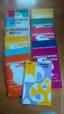 A Collection of Twelve Lincolnshire Writers Magazines