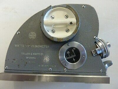 Hilger and Watts 60 degree Clinometer . price includes VAT and UK delivery