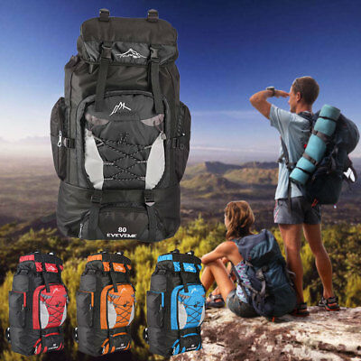 Womens Mens Large Travel Backpack Hiking/Camping/Sporting Rucksacks Outdoor Bag
