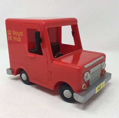 Postman Pat 1 Red Plastic Toy Van 2003 Kids Children Toddler Royal Mail Vehicle