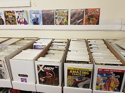 10 x Comic Books - Marvel Dc Independents blind bags 10 random lucky dip