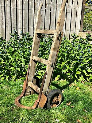 Handsome French Vintage Sack Barrow/Truck Circa 1920s