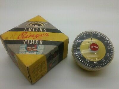 Vintage Smiths 1 Hour Timer - Boxed