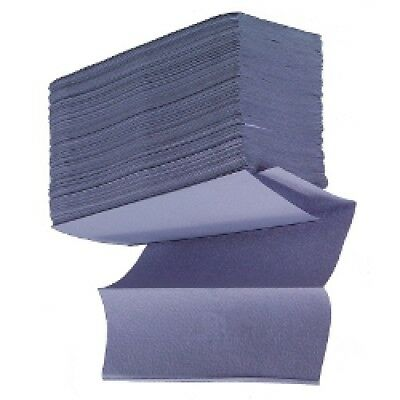 Z Fold Paper Hand Towels - Blue - Case of 3000 Sheets