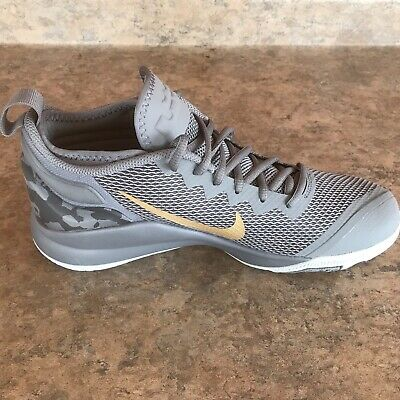 Nike LeBron Witness II 2 Gray Grey US Size 7.5 Men's Basketball 942518 009 ZOOM