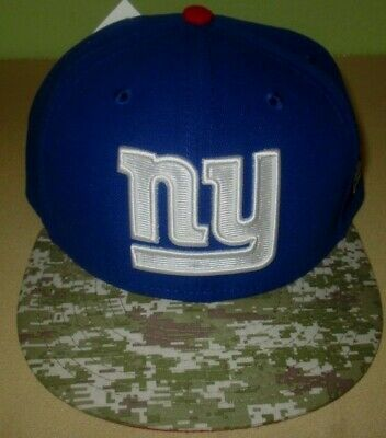 new products 8340f 66897 NY New York Giants Salute To Service New Era 59FIFTY Camo NFL Hat 8 fitted