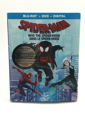 Spider-Man Into The Spider-Verse (Blue-Ray/DVD) (HI51)