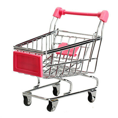 Trolley - Supermarket Shopping - Miniature - Dolls House Child's Play Toy Gift