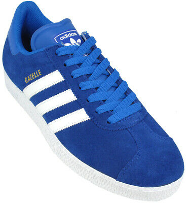 ✅24hr DELIVERY✅ ADIDAS GAZELLE 2 ROYAL BLUE SUEDE MENS RETRO TRAINERS rrp £75