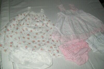 Baby girls clothes Newbie/Babaluno dresses 3-6m - combined postage available