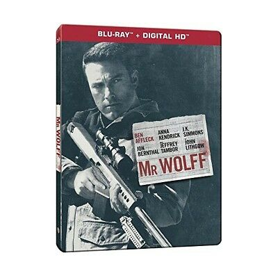 "Mr Wolf ""Edition Steelbook"" - Bluray + Copie Digitale - Neuf Sous Blister"