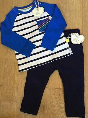 Little Bird By Jools Oliver Age 12-18 Months Cord Trousers & Striped Top Bnwt