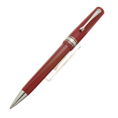 OMAS Ballpoint Pen Arte Italiana Art Deco Certified Edition Red Used""