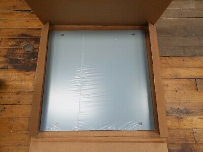 Hoffman AFE18X18 Flush Screw Box Cover Door Plate Mount 18x18 783510437701 Gray