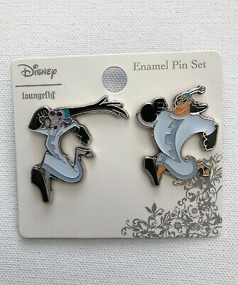 Disney Loungefly The Emperor's New Groove Yzma Kronk Secret Lab Coat 2 Pin Set