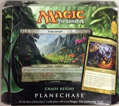 Magic the Gathering MTG Planechase 2012 Chaos Reigns Factory Sealed Deck