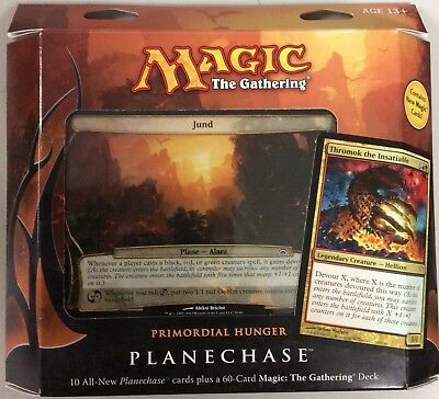 Magic the Gathering MTG Planechase 2012 Primordial Hunger Factory Sealed Deck
