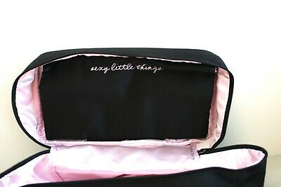 New Victoria Secret Black Travel Bra, Undies, Lingerie, Jewels Storage Case Bag