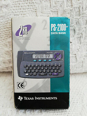 Vintage Tech - Texas Instruments PS-2100+ Data Bank
