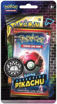 Pokemon TCG: Detective Pikachu Booster Pack + 1 Sun & Moon Booster Pack + A Meta