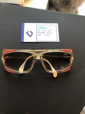 6a7f1ff1fb01 Rare VINTAGE NOS 1980 s CAZAL W. GERMANY SUNGLASSES Pink White Gold  G12