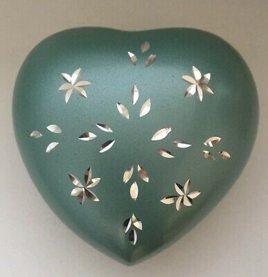 Mini Cremation Urn Token Ashes Urn Keepsake Funeral Ashes Urn Heart Shaped