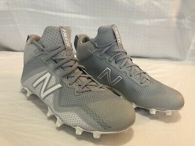 best service f9170 ff5e5 NEW BALANCE Mens 6.5 FREEZE Lacrosse Cleats v1 Gray Silver EXCELLENT  CONDITION