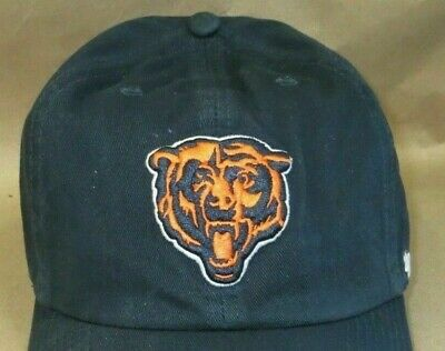 NWT CHICAGO BEARS '47 Clean Up 3XL Hat, NFL Hologram, Garment Wash, size 7.5-8.5
