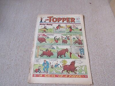 """Topper comic,No 540-  June 8th 1963- - Fair Condition """" Young Hammerfist """""""