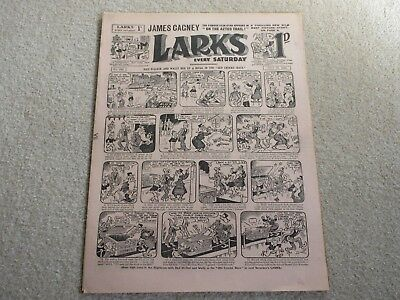 LARKES COMIC With James Cagney picture story, No 560- July 16th 1938 - gc