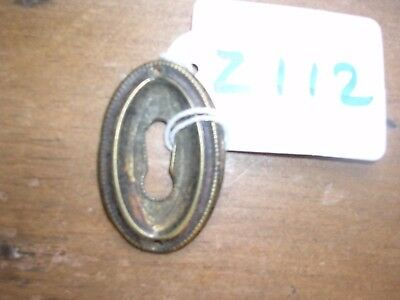 Antique Brass Escutcheon (Z112)