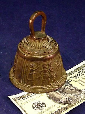 Evangelist Bell Byzantine Rare Roman Guards or Centurion Vintage Antique Bronze