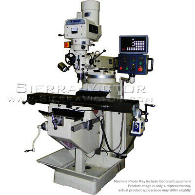 US INDUSTRIAL Heavy Duty Electronic Variable Speed Milling Machine 3EVH-5-KIT