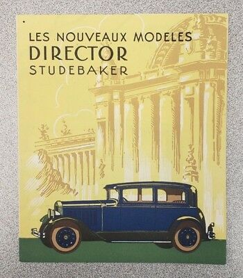 1927 Studebaker Sales Folder (French)