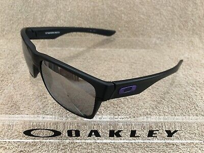 8eb86530a5c6e Oakley TWOFACE Sunglasses Matte Black Violet Icon Chrome Iridium 60o16 137