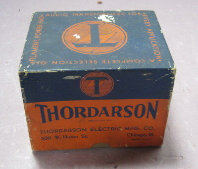 Uncommon Thordarson Transformer T-15S98==Use to Drive  Recording Head