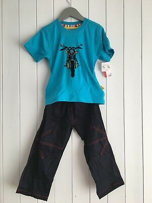 Boys t-shirt And Trousers size 3 years Biker Boy 2 Piece Outfit