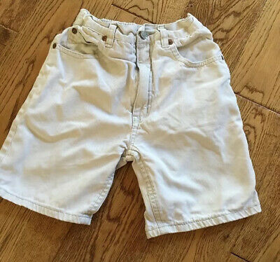 Boys shorts size 7 years Adams Jeans Cream/beige
