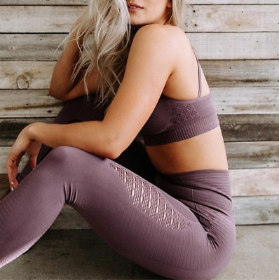 """""""New Set"""" Top + Leggings Fitness Compression Yoga Tight Gym Sport Woman Donna"""