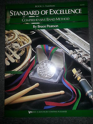 Standard Of Excellence Comprehensive Band Method  Book 3 Trombone