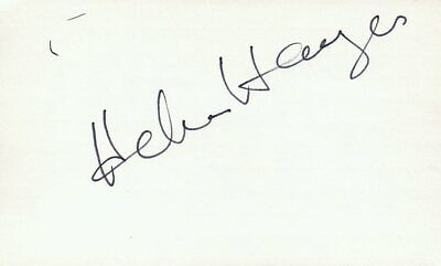 Movies Ellen Barkin Actress Helen In Sea Of Love Movie Autographed Signed Index Card